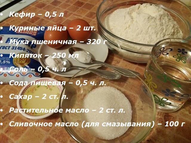 Блины на кефире тонкие с дырочками – правильный рецепт с кипятком