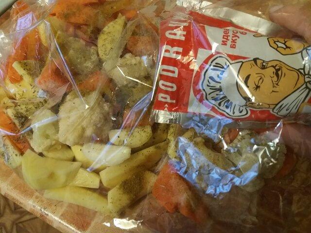Овощи посыпаем специями и приправами1