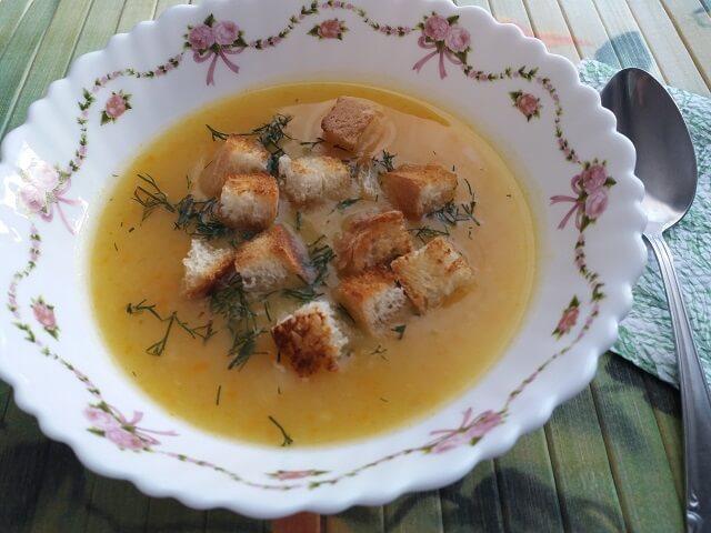 Готовый картофельный суп-пюре