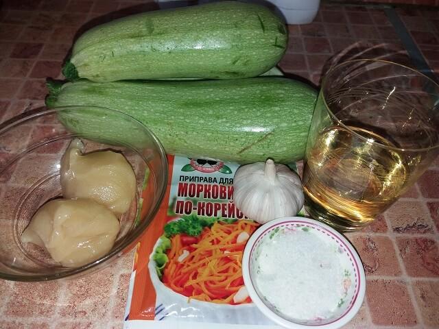 Кабачки по-корейски быстрого приготовления – самые вкусные рецепты