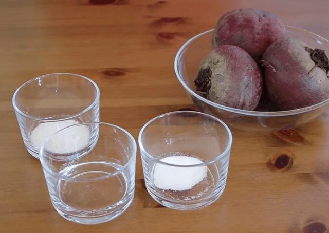 Ингредиенты для свекольного маринада