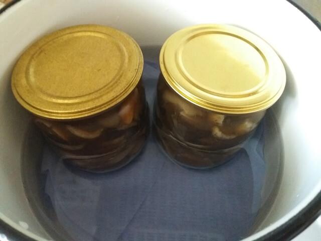 Маринованные грибы - рецепт быстрого приготовления на зиму