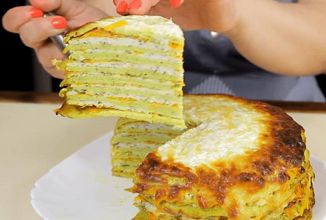 Торт из кабачков - быстро и вкусно!