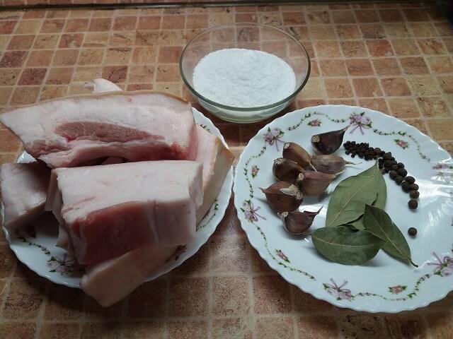 Сало в рассоле – самые вкусные рецепты! Как вкусно посолить сало