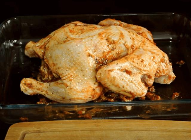 Курица с яблоками в духовке – 6 самых вкусных рецептов