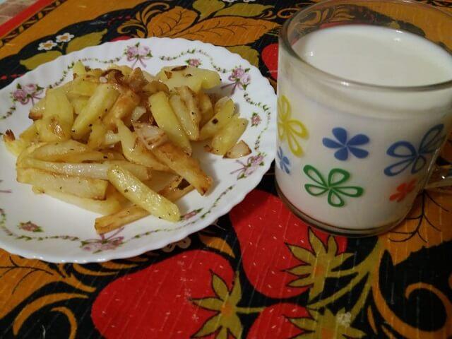 Жареная картошка на сковороде – как правильно пожарить картофель